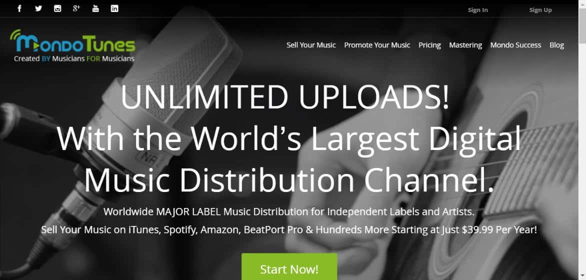 Sell Your Music Online - Digital Music Distribution Services